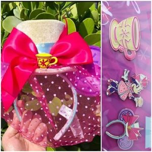 Main Attraction Minne Tea Party ears and pins